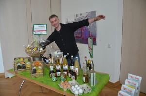 Agendapreis 2011 - Christian Petschke freut sich über die Auszeichnung