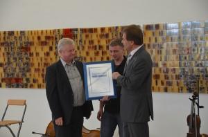 Agendapreis 2011 - Preisverleihung durch OB Norbert Feith