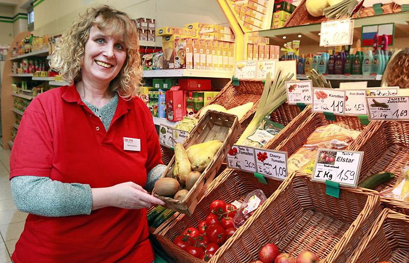Sibille Wuthenow – unsere Marktleiterin