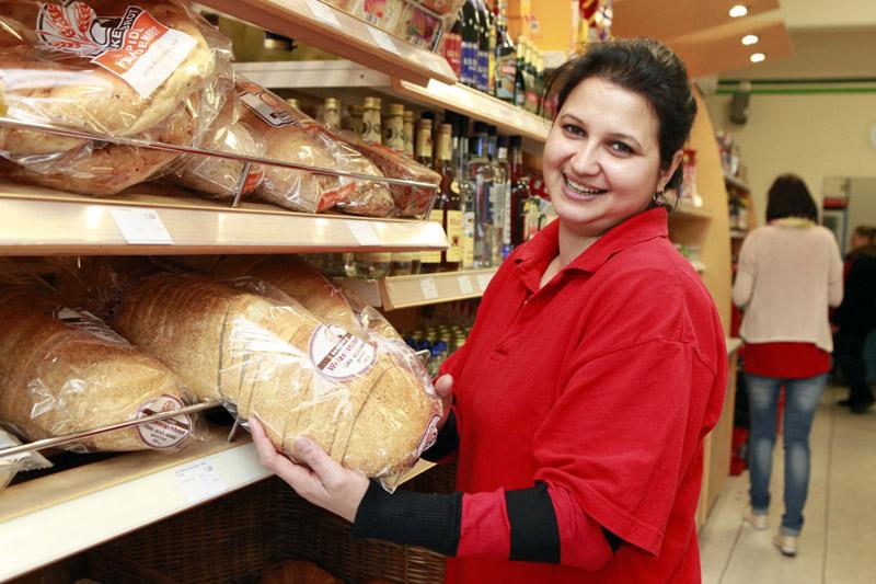 Jeden Tag frisches Brot