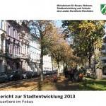 Stadtentwicklungsbericht des Landes NRW
